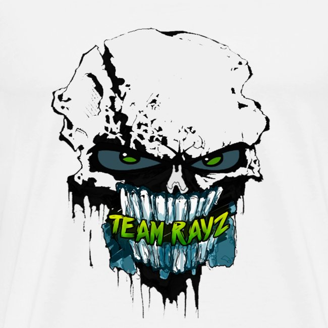 #TeamRayz Zombie Skull Shirt