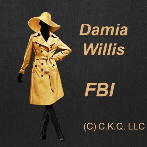 Damia Willis, FBI Tote Bag - Tote Bag