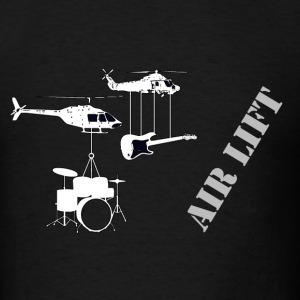 air lift music - Men's T-Shirt