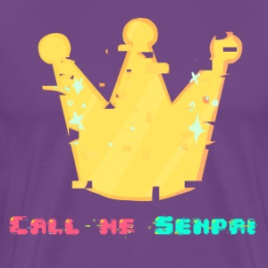 Call me Senpai - Men's Premium T-Shirt