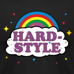 Hardstyle Techno Rave DJ T-Shirts - Men's T-Shirt by American Apparel