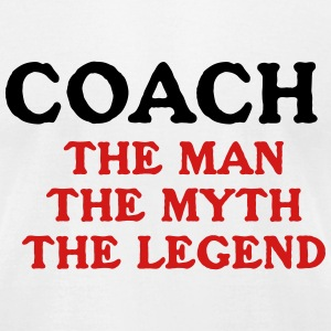 Coach Instructor Myth GYM  Legend T-Shirts - Men's T-Shirt by American Apparel