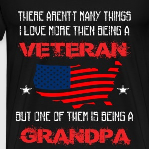 Veterans T-shirt - Being a grandpa - Men's Premium T-Shirt
