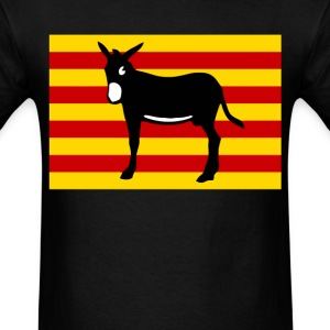 Burro Catalan - Men's T-Shirt