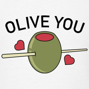 Olive You - Men's T-Shirt