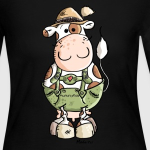 Bavarian Cow Long Sleeve Shirts - Women's Long Sleeve Jersey T-Shirt