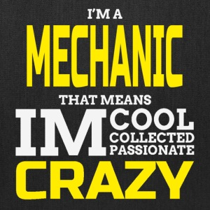 Crazy Mechanic Bags & backpacks - Tote Bag