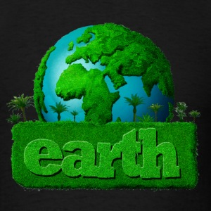 Earth - Earth month/day - Men's T-Shirt
