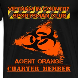 Agent Orange T-shirt - Charter member - Men's Premium T-Shirt