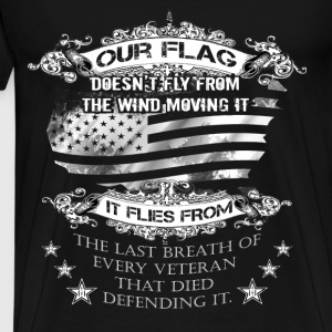 Veterans T-shirt - Our flag - Men's Premium T-Shirt