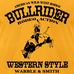Western Rodeo - Bullrider T-Shirts - Men's T-Shirt by American Apparel