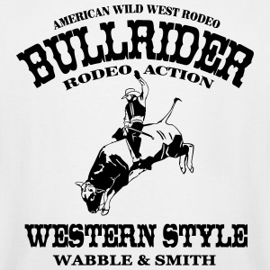 Western Rodeo - Bullrider T-Shirts - Men's Tall T-Shirt