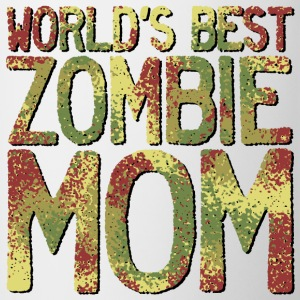 Worlds Best Zombie Mom Mugs & Drinkware - Contrast Coffee Mug
