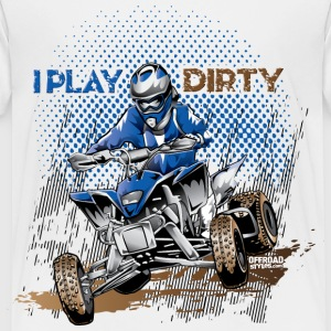 Dirty Quad Racer Baby & Toddler Shirts - Toddler Premium T-Shirt