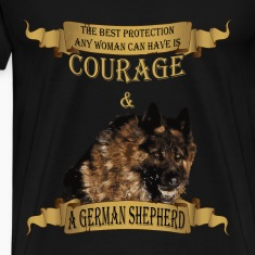 German Shepherd T-shirt - The best protection