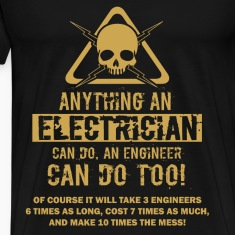 Electrician T-shirt - Electrician can do