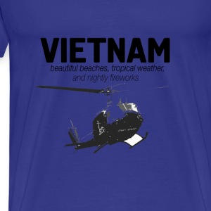 Veterans T-shirt - Vietnam - Beautiful beaches - Men's Premium T-Shirt