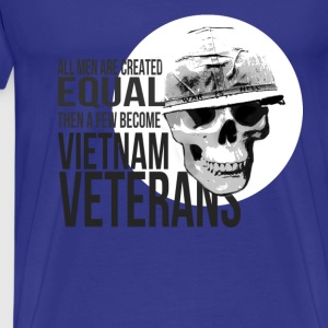 Vietnam veterans T-shirt - A few become veterans - Men's Premium T-Shirt