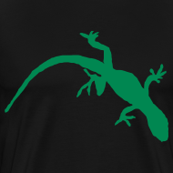 Design ~ Bright Green Gecko