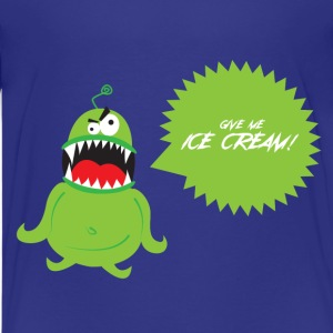 Ice Cream Monster Kids' Shirts - Kids' Premium T-Shirt
