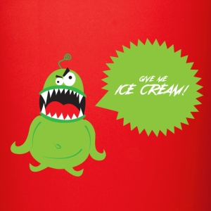 Ice Cream Monster Mugs & Drinkware - Full Color Mug