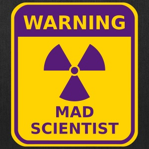 Mad Scientist Warning - Tote Bag