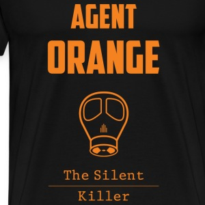 Agent orange T-shirt - The silent killer - Men's Premium T-Shirt