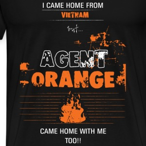 Agent orange T-shirt - Came home with me - Men's Premium T-Shirt