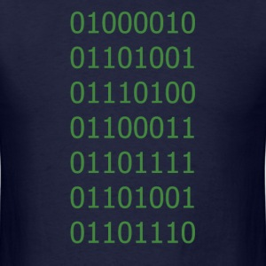 Binary T-Shirts - Men's T-Shirt