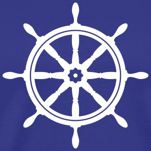 boat wheel T-Shirts - Men's Premium T-Shirt