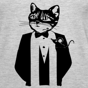 Cat in a tuxedo Tanks - Women's Premium Tank Top