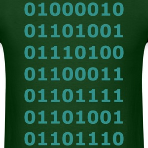 Silicon Valley Binary Bitcoin - Men's T-Shirt