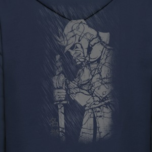 Samurai and rain Hoodies - Men's Hoodie
