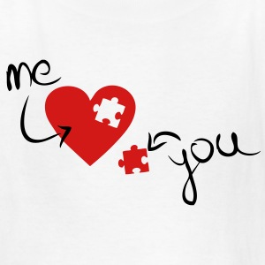 Missing Piece To My Heart Kids' Shirts - Kids' T-Shirt