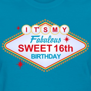 Las Vegas 16th Birthday Women's T-Shirts - Women's T-Shirt