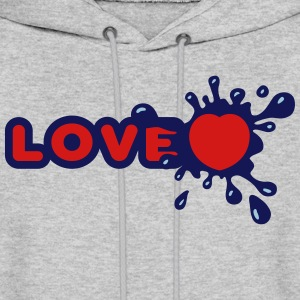 Love Splash Hoodies - Men's Hoodie