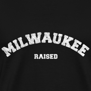 Milwaukee Wisconsin Raised T-Shirts - Men's Premium T-Shirt