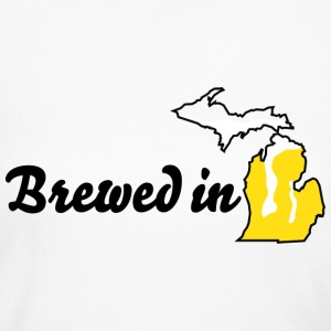 Brewed In Michigan Long Sleeve Shirts - Women's Long Sleeve Jersey T-Shirt