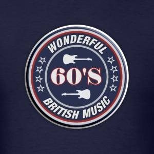 Wonderful 60's British - Men's T-Shirt