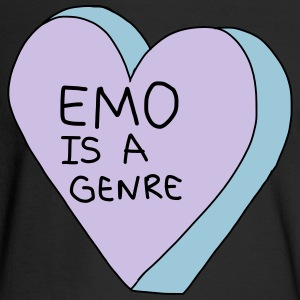 Emo is a Genre - Men's Long Sleeve T-Shirt
