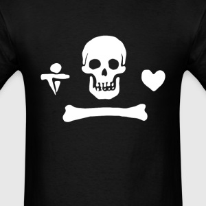 Pirate Flag – Stede Bonnet - Men's T-Shirt