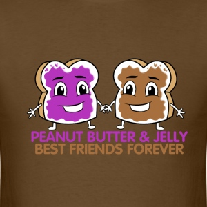 Peanut Butter & Jelly BFF - Men's T-Shirt