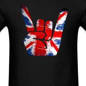 rock union jack - Men's T-Shirt
