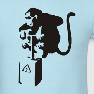 Banksy – Detonator Monkey - Men's T-Shirt