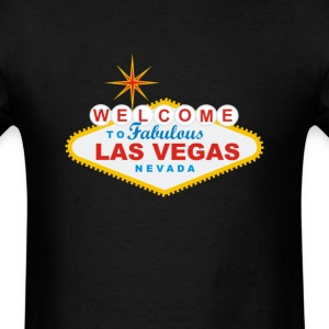 Welcome to Fabulous Las Vegas - Men's T-Shirt