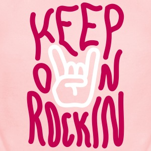 Keep on Rockin Baby & Toddler Shirts - Short Sleeve Baby Bodysuit