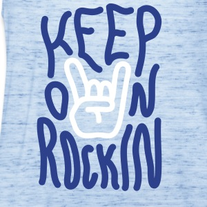 Keep on Rockin Tanks - Women's Flowy Tank Top by Bella