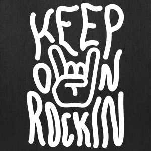 Keep on Rockin Bags & backpacks - Tote Bag