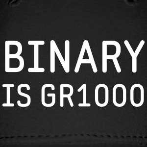 Binary is Great (GR8) Math Humor Caps - Baseball Cap
