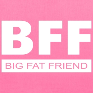 BFF - Big Fat Friend Bags & backpacks - Tote Bag